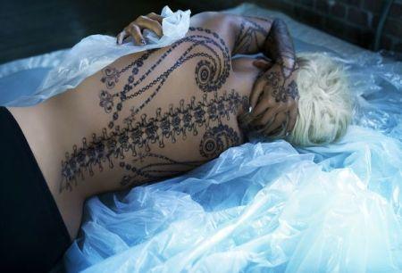 fashion fake tattoo