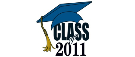 Class of 2011 graduation temporary tattoo
