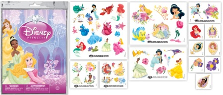Disney-Princess-Temporary-Tattoos