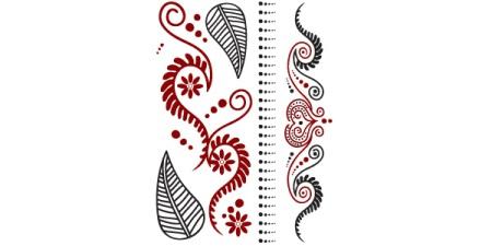 Henna Temporary Tattoos