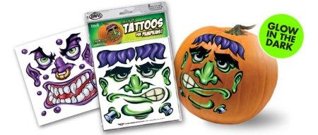 Halloween Glow Tattoos