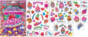 Sweet tooth temporary tattoos