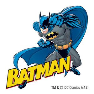Batman temporary tattoo