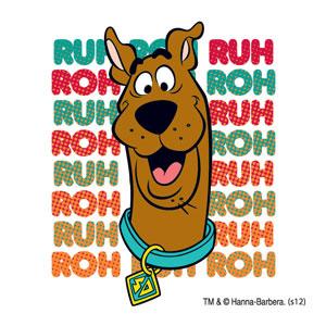 Scooby-Doo temporary tattoo