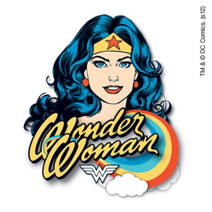 Wonder Woman temporary tattoo