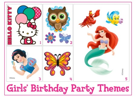 Girls Birthday Party Theme Ideas