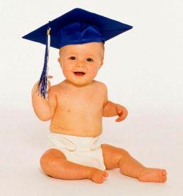 baby graduation cap