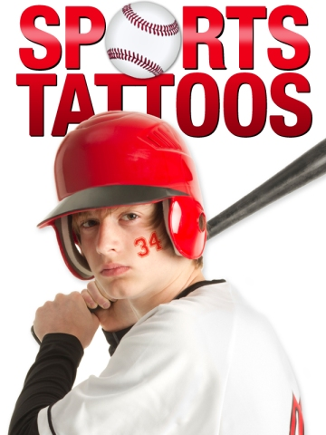 Sports Temporary Tattoos Baseball
